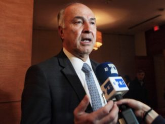 El ministro de Justicia, Enrique Gil Botero