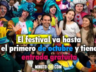 Inauguración Festival Buen a Comienzo Medellín. Foto/Minuto30