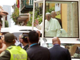 papa francisco en cartagena