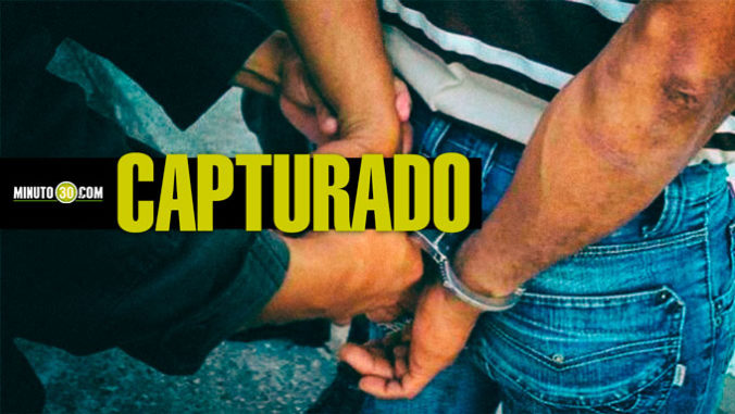 CAPTURADO, DETENIDO