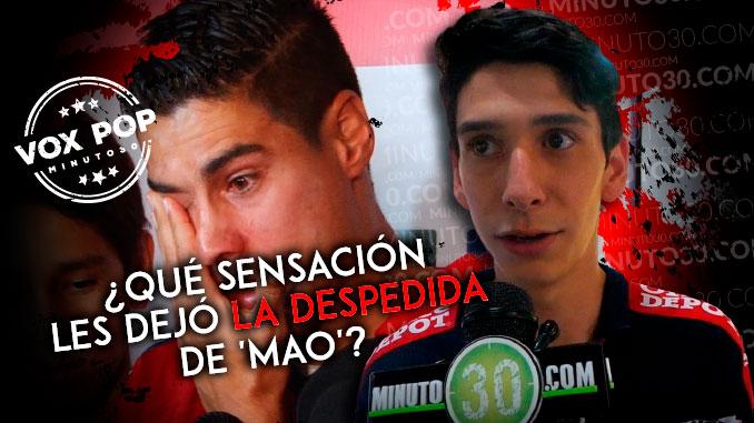 Hinchas del DIM hablaron sobre el adios de Mauricio Molina
