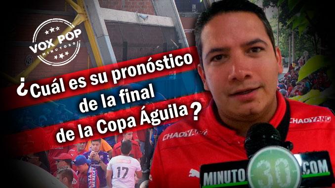 Hinchas del Medellin analizaron el juego que se viene ante Junior 1