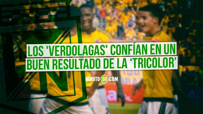 Jugadores de Nacional analizaron el partido Colombia Paraguay 680