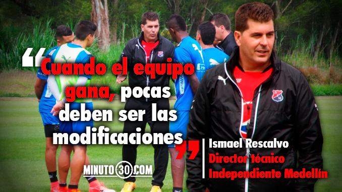 Medellin y su entrenador listos para enfrentar un rival directo