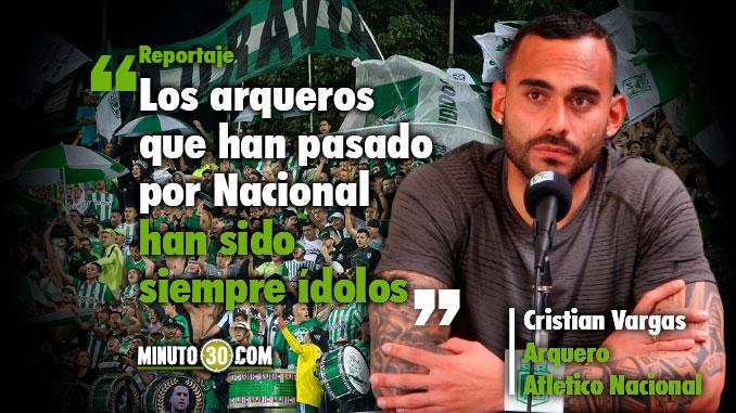 Renace la ilusion de Cristian Vargas de ser titular
