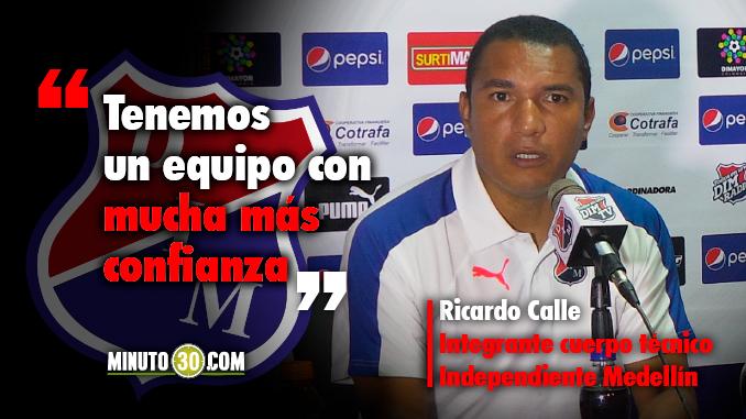 Ricardo Calle resalto aspectos importantes que dejo triunfo del DIM