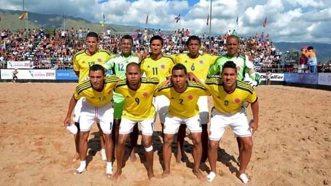 Seleccion Colombia Futbol Playa