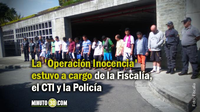 Operativo contra abusadores de menores dejó 23 capturas en Medellín, Bello y Copacabana