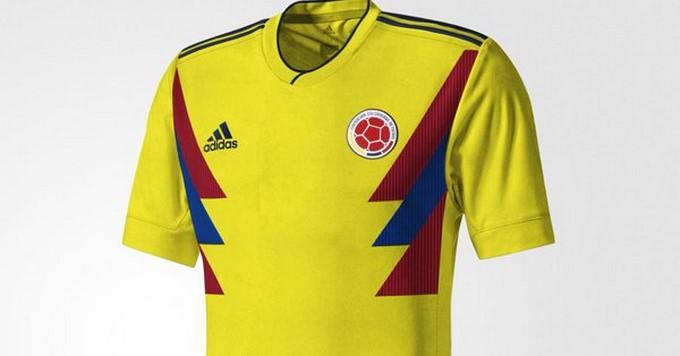 colombia camiseta 2018