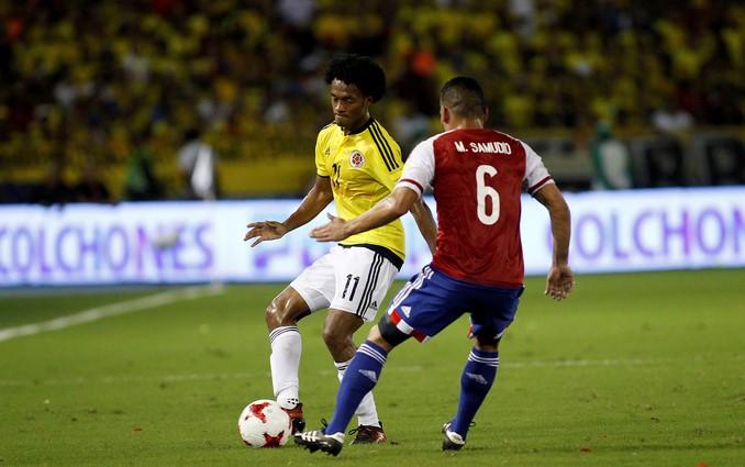 colombia paraguay cuadrado