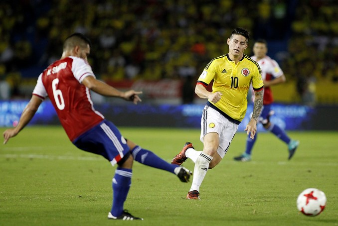 colombia paraguay james