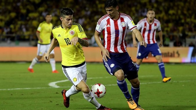 james paraguay colombia