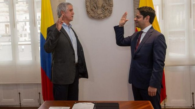 Guillermo Herrera Castaño es el nuevo secretario de Hábitat de Bogotá