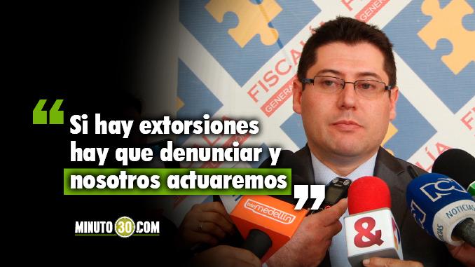 """""""Tenemos un aumento en las denuncias por extorsión"""": Fiscalía"""