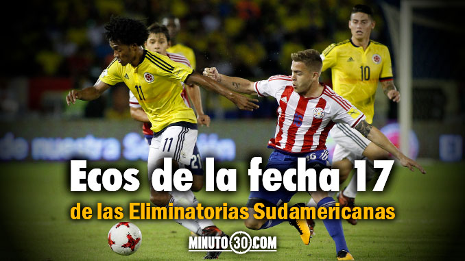 resultados eliminatorias sudamericanas fecha 17 portada