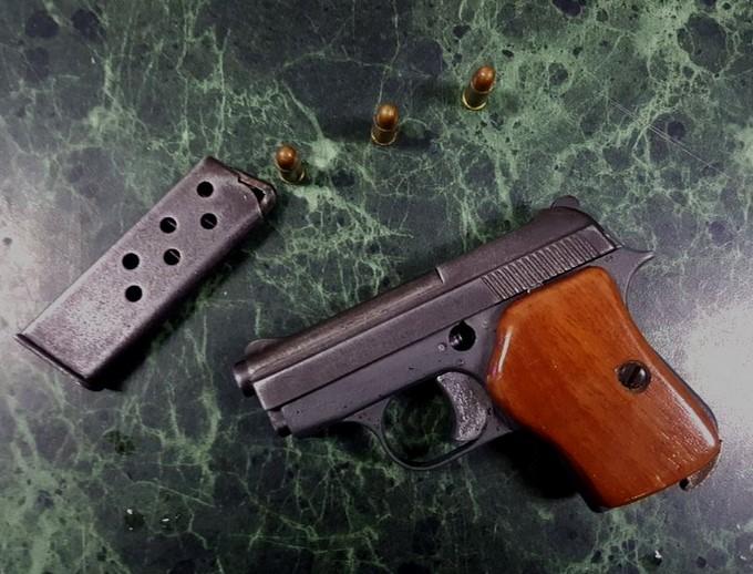 Arma de fuego calibre 22
