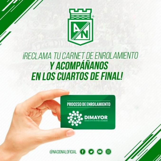 Atletico Nacional enrolamiento 1