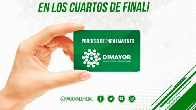 Atletico Nacional enrolamiento 2