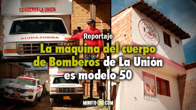 Estación de Bomberos La Unión. Foto/Minuto30Estación de Bomberos La Unión. Foto/Minuto30