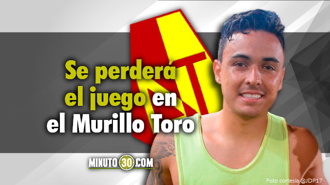 Deportes Tolima tendra baja para enfrentar a Nacional