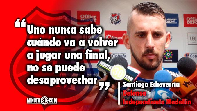 Es el gran objetivo resalto Echeverria previo a disputa del titulo de Copa Aguila