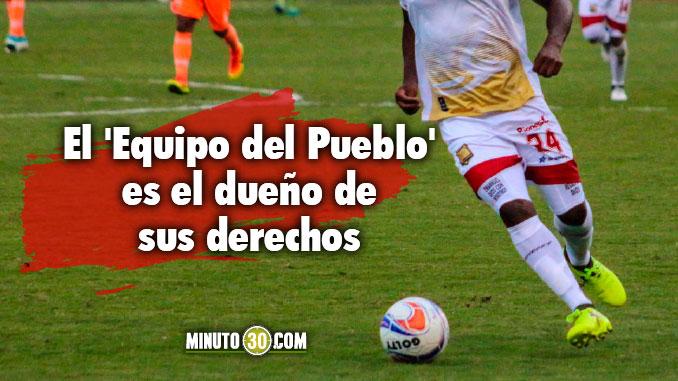 Fabio Burbano salio de Rionegro y quedo a disposicion del Medellin