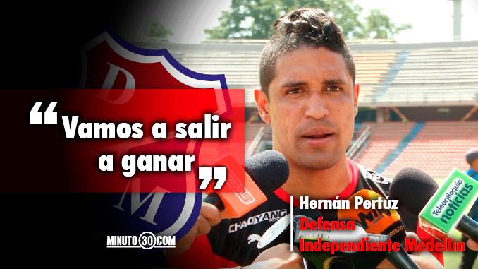 Hernan Pertuz analiza el reto que se le avecina a Medellin