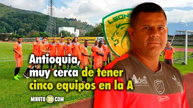 Leones goleo a Lleneros y acaricia el ascenso a la primera division