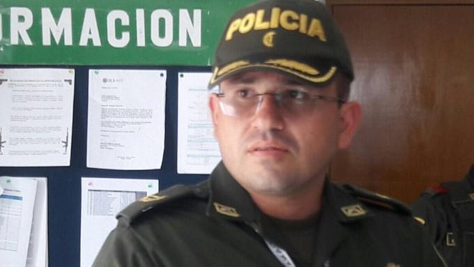 Mayor Héctor Fabio Murillo Rojas