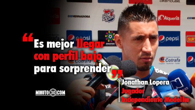 Medellin no come cuento del favoritismo de Junior
