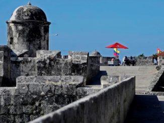 Murallas y castillo de Cartagena