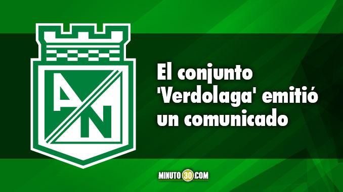 Nacional dio a conocer version oficial sobre posible contratacion de Ospina