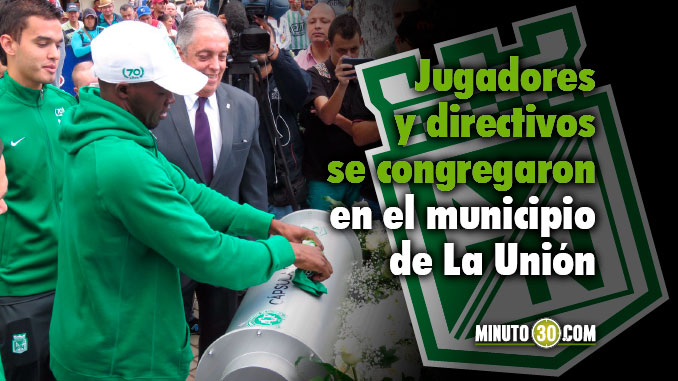 Nacional realizo homenaje postumo a victimas de Chapecoense