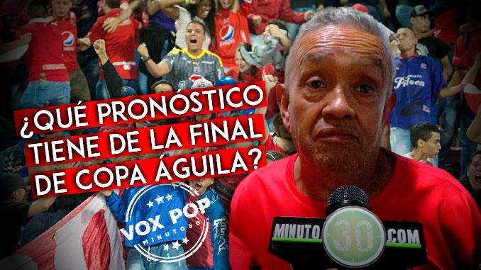 Que pronostico tiene de la final de Copa Aguila