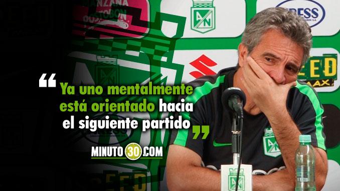 Reacciones Juan Manuel Lillo tras la derrota de Nacional