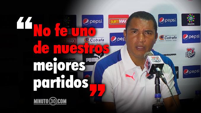 Reacciones de Ricardo Calle tras la derrota de Medellin con America