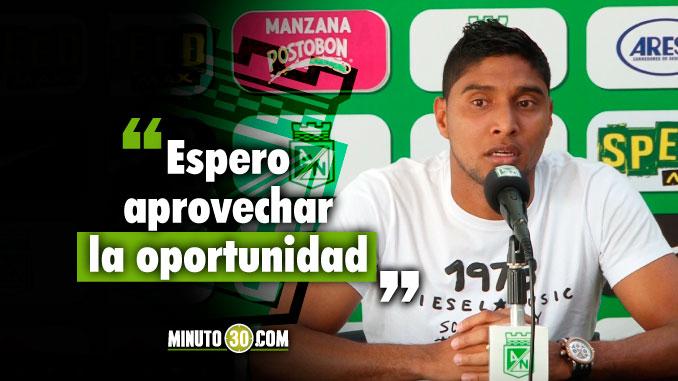 Ruiz esta listo para el reto de reemplazar a Dayro Moreno