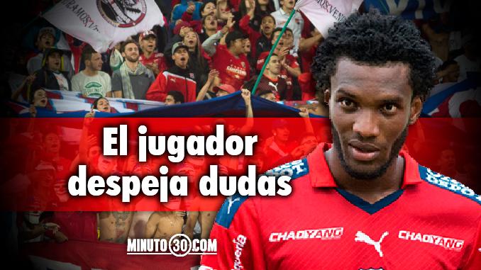 Tiene ofertas Didier Moreno lo han llamado de Nacional