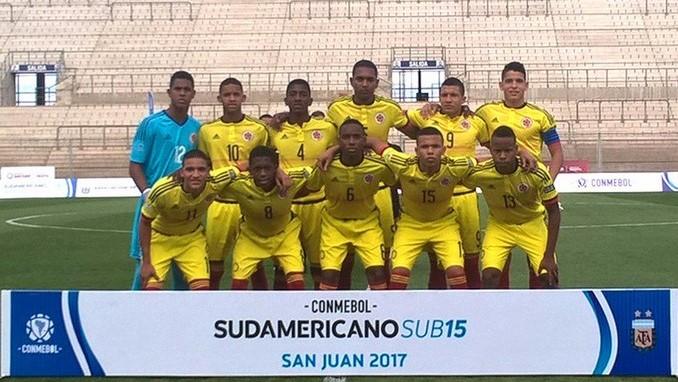 sudamericano 15 colombia