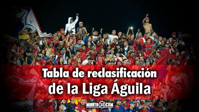 tabla reclasificacion liga aguila 2 cuartos de final ida portada