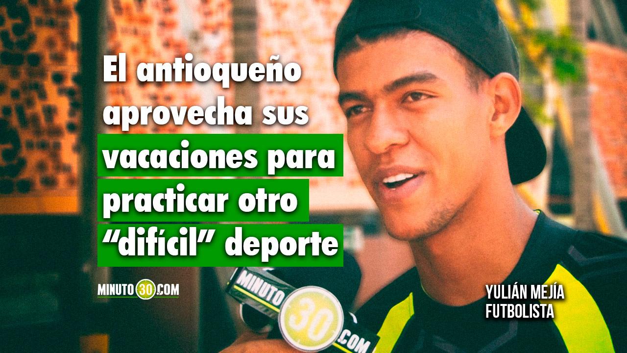 1280 Yulian Mejia tiene contrato con Nacional y esta a la espera de una bendicion