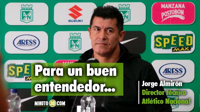 678 Contara Almiron con Giovanni Moreno y Camilo Zuniga el entrenador responde