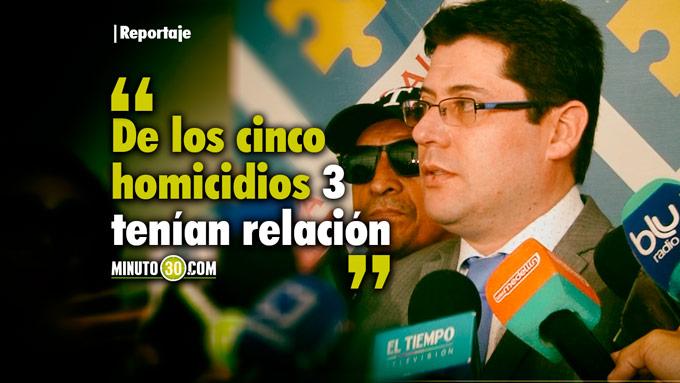 Raúl González Flechas - Director seccional de Fiscalías Medellín. Foto/Minuto30