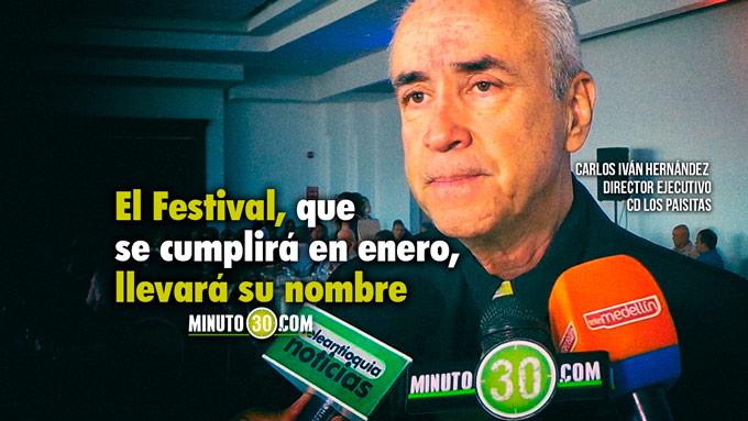 680 El Ponyufutbol le rendiran homenaje a Luis Fernando Montoya