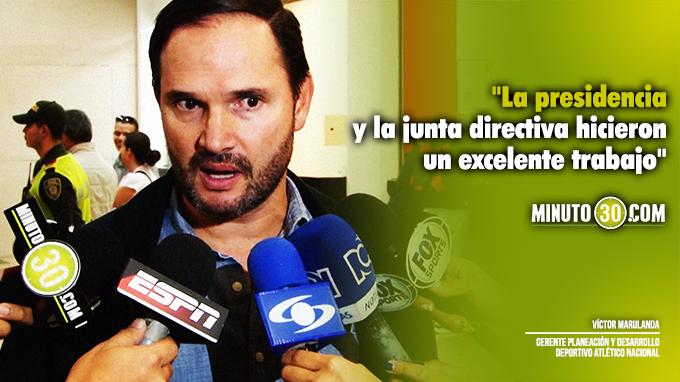 680 Pidio algo especifico Jorge Almiron para venir a dirigir a Nacional Marulanda responde