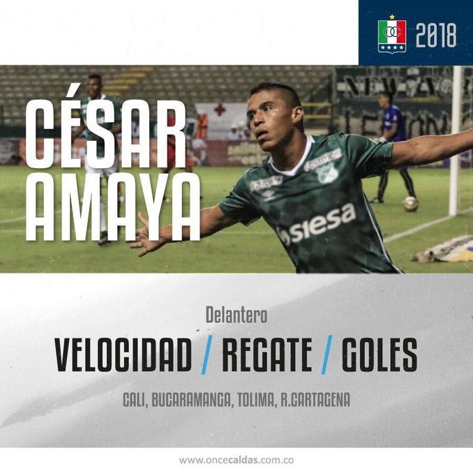 Cesar Amaya Once Caldas 3