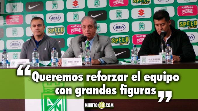 Como va lo de Giovanni Moreno y Camilo Zuniga para Nacional Botero responde