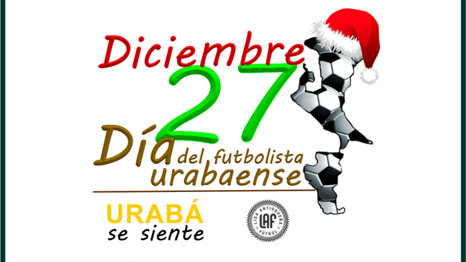 Dia del Futbolista Urabaense