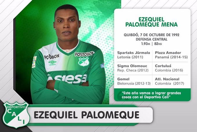 Ezequiel Palomeque llega al Deportivo Cali 2