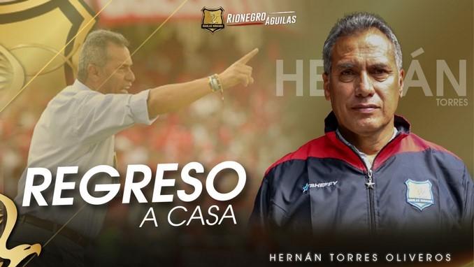 Hernan Torres nuevo entrenador Rionegro Copiar